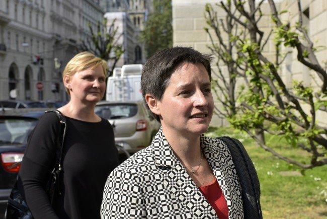 Die Stadträtinnen Frauenberger und Wehsely