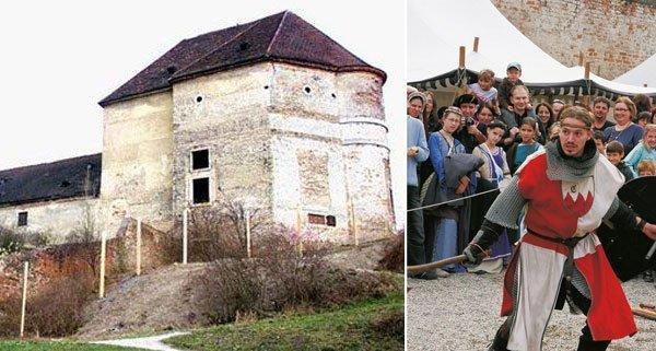 Im Schloss Neugebäude sind wieder die Ritter und Gaukler los