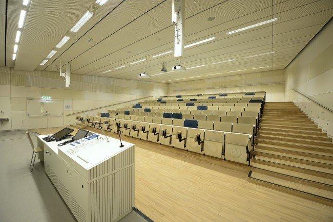 650 Interessenten gab es für 581 Plätze der TU Wien