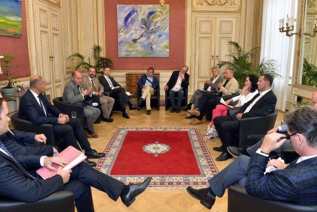 Bei einem Treffen des Innenministers mit den Klubobleuten wurden der Termin für die BP-Wahl fixiert