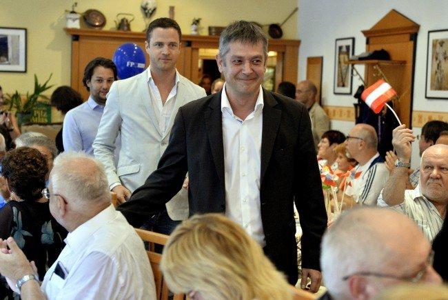 Der FPÖ-Spitzenkandidat in der Leopoldstadt zur Stimmabgabe am Sonntag