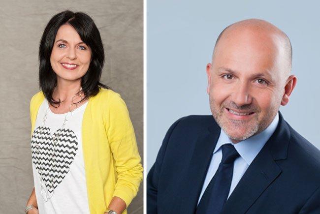 Programmchefin Sylvia Reim und Geschäftsführer Mag. Wolfgang Struber