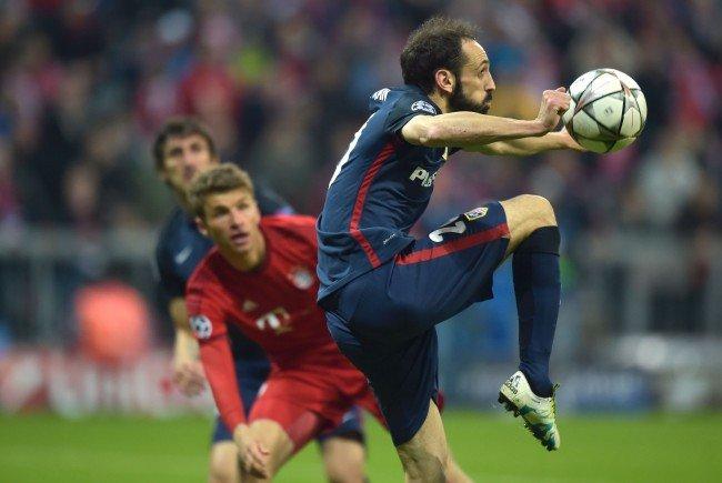 Atlético 'Madrid und die Bayern treffen in der Champions League wieder aufeinander.
