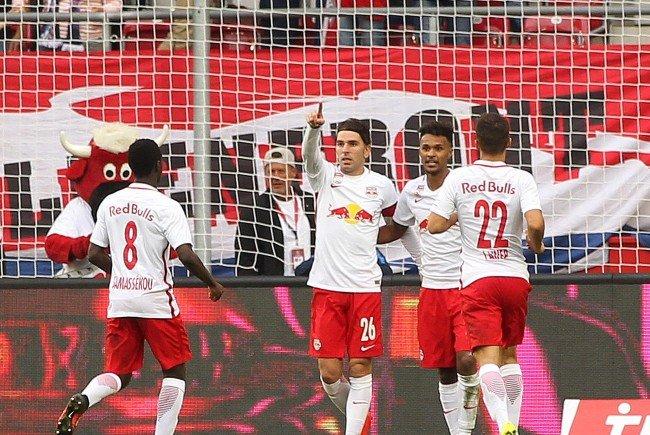Red Bull Salzburg siegte mit 4:1 gegen die Wiener Austria.