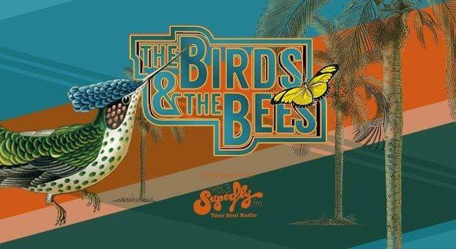 """3×2 Tickets für """"The Birds & The Bees"""" im Volksgarten Pavillon gewinnen"""