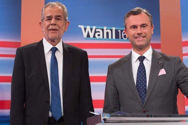 Die neuen Termine der TV-Duelle im Bundespräsidenten-Wahlkampf.