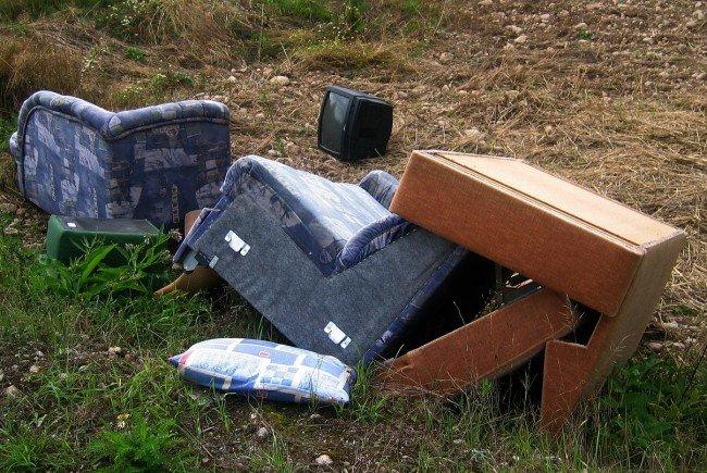 Illegalie Abfallsammler sorgen für Probleme.