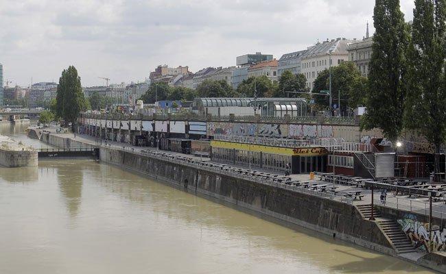 Am Donaukanal kam es zu zeri Festnahmen wegen Drogenbesitzes