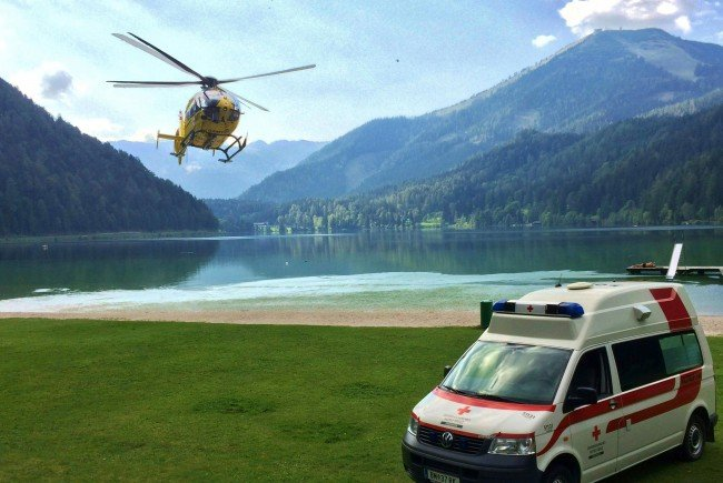 Am Erlaufsee verunfallte ein Wiener Schüler