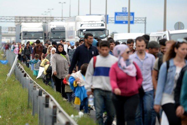 """In den vergangenen 300 Jahren war Österreich regelmäßig in """"Flüchtlingskrisen""""."""