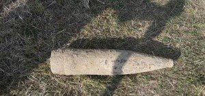 Granate in einem Feld in Wien-Donaustadt gefunden