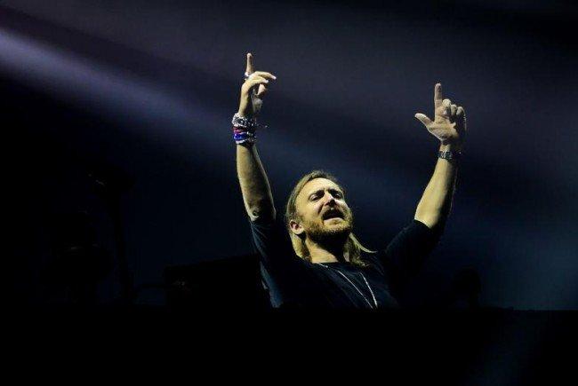 David Guetta legt 2017 live in Wien auf.
