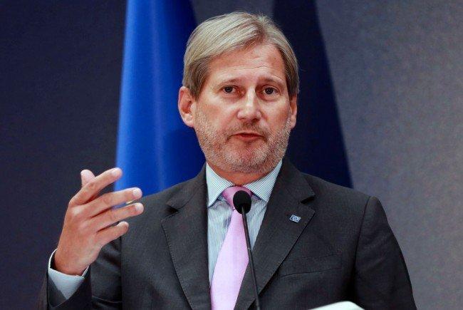EU-Kommissar Hahn ist gegen nationalstaatliche Abschottungen