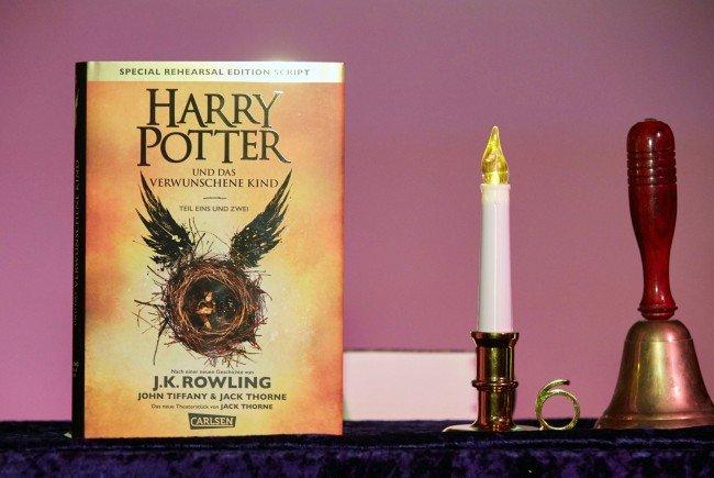 """Die deutschsprachige Ausgabe des Buches """"Harry Potter und das verwunschene Kind"""" ist erschienen"""