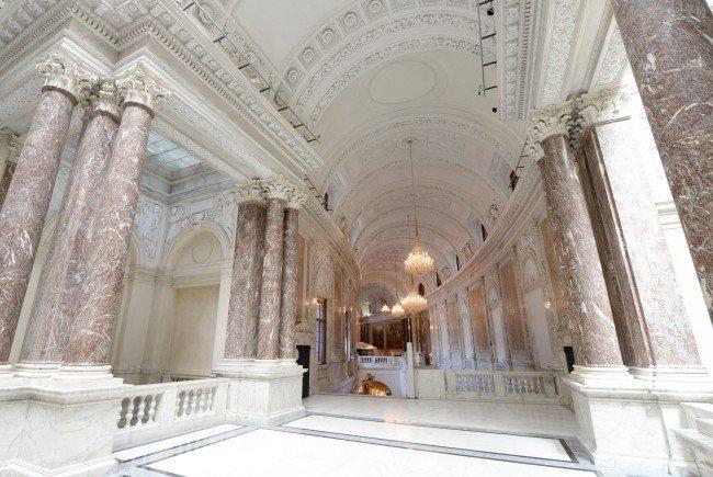 """Das """"Haus der Geschichte"""" entsteht in der Neuen Burg."""