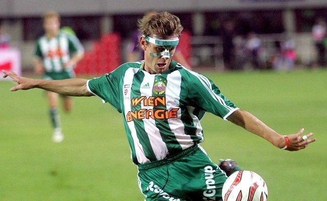 Axel Lawarée spielte von 2004 bis 2006 bei Rapid.