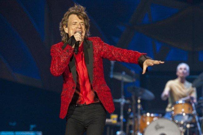 Mick Jagger und Co. auf der großen Kino-Leinwand.