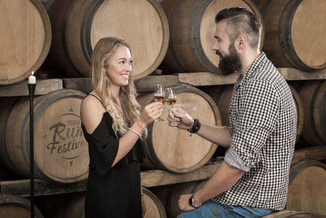 """Christian Seidl (rechts) ist Veranstalter des """"Vienna Rum Festivals"""" 2016."""