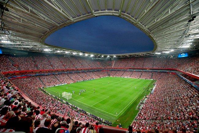 Hier muss Rapid am Donnerstagabend gegen Athletic Bilbao ran.