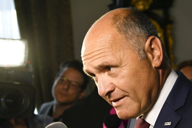 BM Wolfgang Sobotka (ÖVP) äußerte sich zur Wahlkarten-Causa