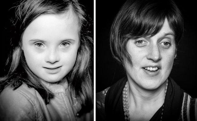 """Petra Gabriel (r.), die Schwester des Fotografen, war die Inspiration für """"Special"""", Larissa Skraban (l.) eine der Porträtierten"""