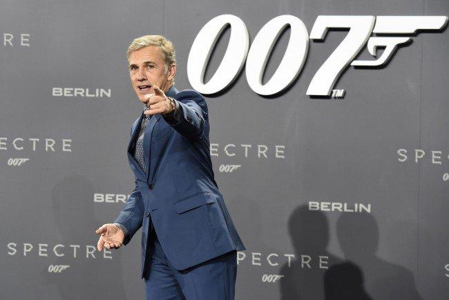 Waltz ist unzufrieden mit seinem Bond-Einsatz