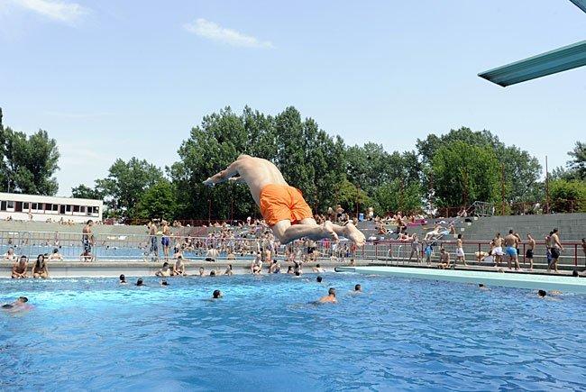 Rund ein Drittel weniger Besucher gab es in der Freibadsaison 2016.