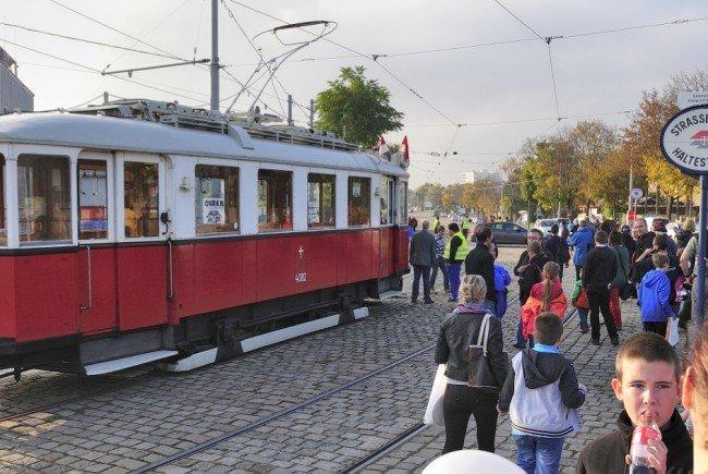 Tramwaytag ist wieder in Wien.