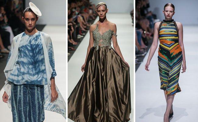 Farbenfrohe Prints und edle Couture am Dienstag beim MQ.