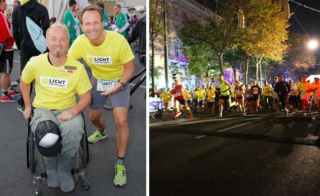Der Vienna Night Run 2016 war wieder ein voller Erfolg.