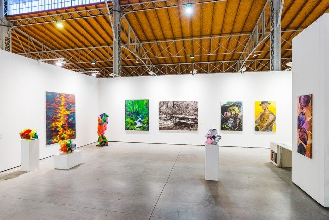 Große Kunstmesse in Wien.