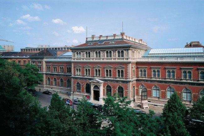Das Museum für angewandte Kunst am Wiener Stubenring.