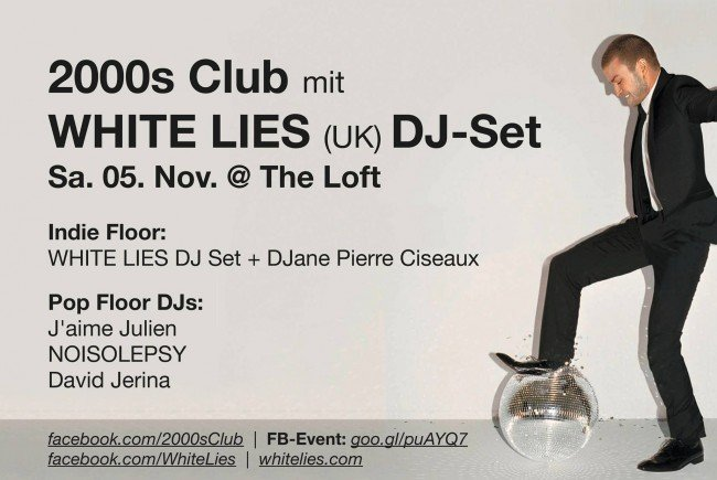 Die White Lies zu Gast im 2000s Club – Tickets gewinnen!