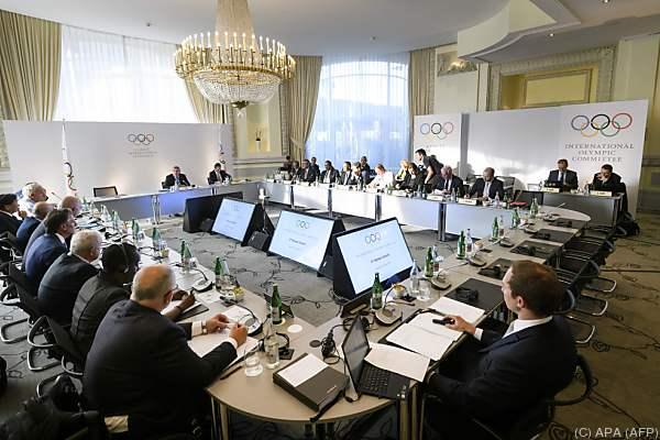 Olympischer Gipfel in Lausanne