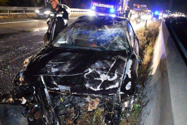 Schwerer Unfall auf der A2.