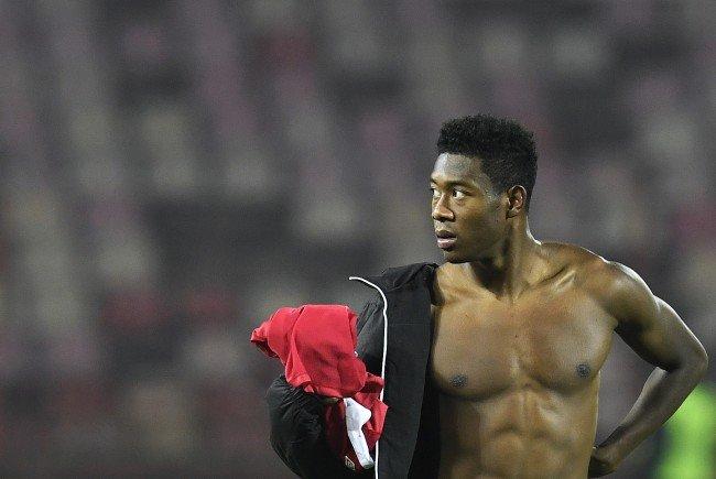 David Alaba soll nach der Niederlage in der Belgrader Nacht noch gefeiert haben.