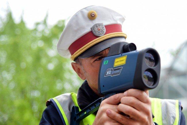 Der Raser ging der Polizei im Burgenland ins Netz.