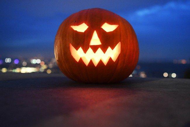 Zu Halloween wird ordentlich gefeiert.
