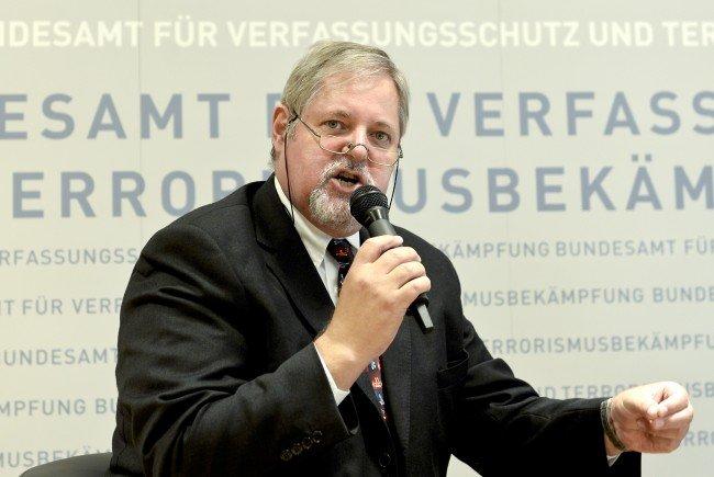 Verfassungsschützer Peter Gridling.