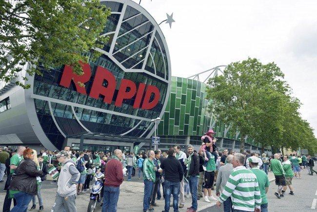Rund um das Allianz Stadion wird am Wiener Derby-Sonntag mit Verkehrsbehinderungen gerechnet.