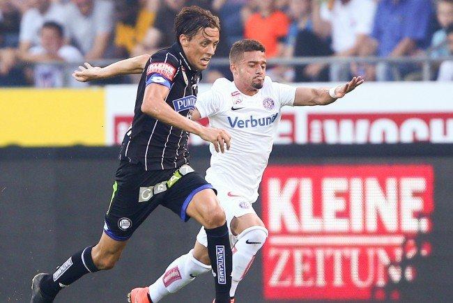 LIVE-Ticker zum Spiel Austria Wien gegen Sturm Graz ab 16.30 Uhr.