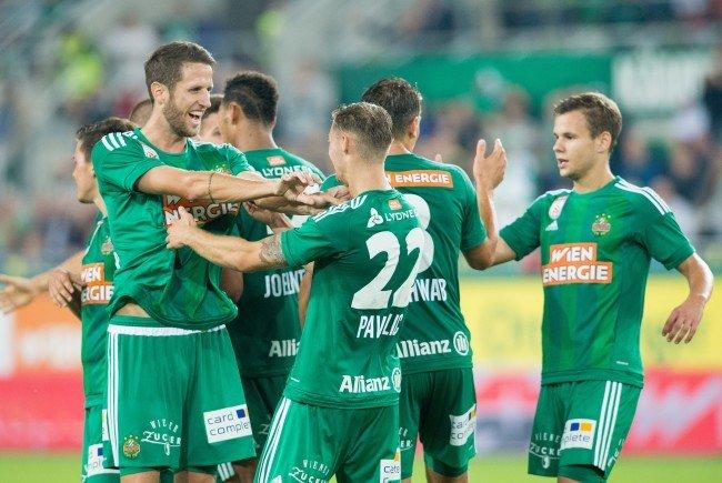 LIVE-Ticker zum Spiel SK Rapid Wien gegen SCR Altach ab 18.30 Uhr.
