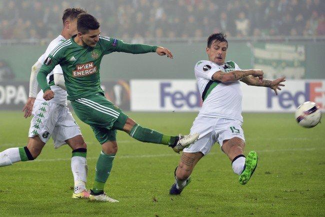 Rapid kam gegen Sassuolo nicht über ein 1:1 hinaus.