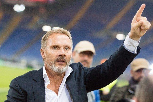 Austria-Coach Thorsten Fink genießt den Moment.