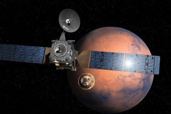 2020 soll die Landung auf dem Mars erfolgen.