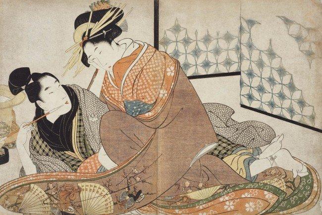 """Erotische Kunst aus Japan im Wiener MAK: """"Shunga"""""""