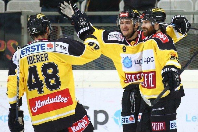 Die Vienna Capitals siegten gegen Znojmo.
