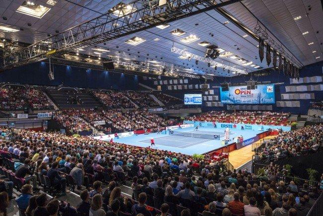Internationale Tennis-Stars kommen zum Erste Bank Open 500
