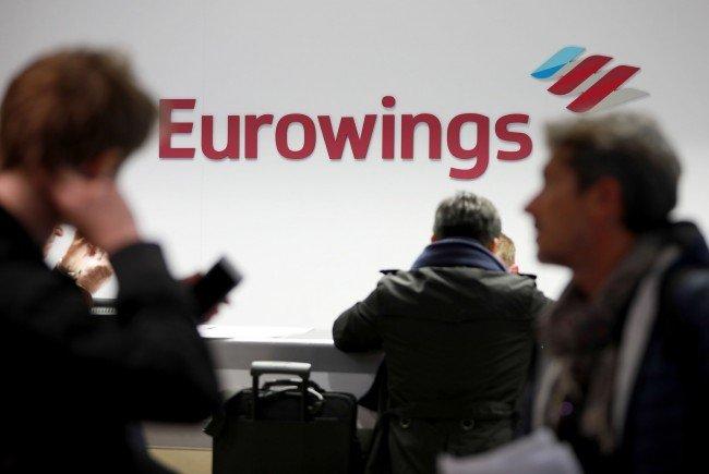 Bei Streik von Eurowings und Germanwings sind auch Österreich-Verbindungen betroffen