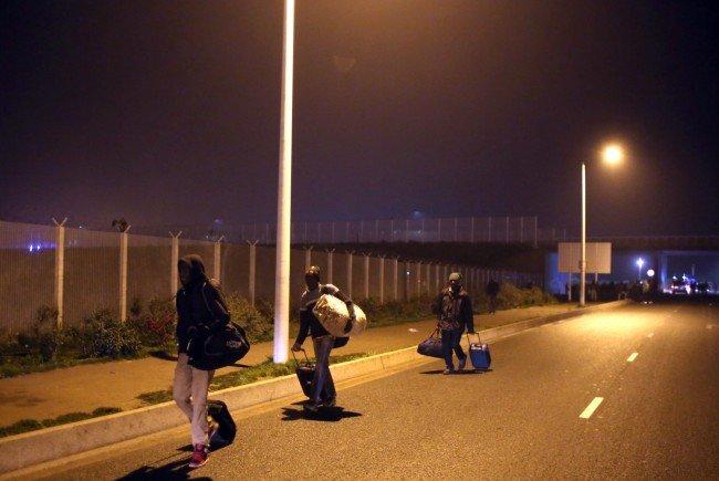 """Der """"Dschungel von Calais"""" wird am Montag geräumt."""